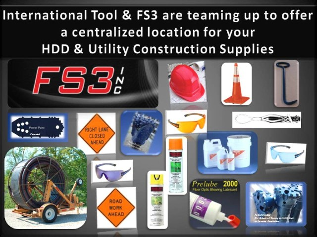 HDD and Utility Construction Supplies